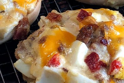 These Cowboy Breakfast Bites are a great grab-and-go breakfast when you're in a hurry but also want something protein-packed and full of flavor!