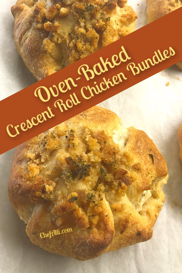 Who wouldn't enjoy a Crescent Roll Chicken Bundle?
