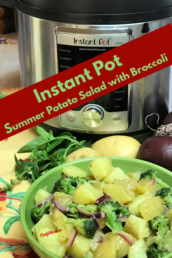 Instant Pot potato salad is so quick and easy to prepare.