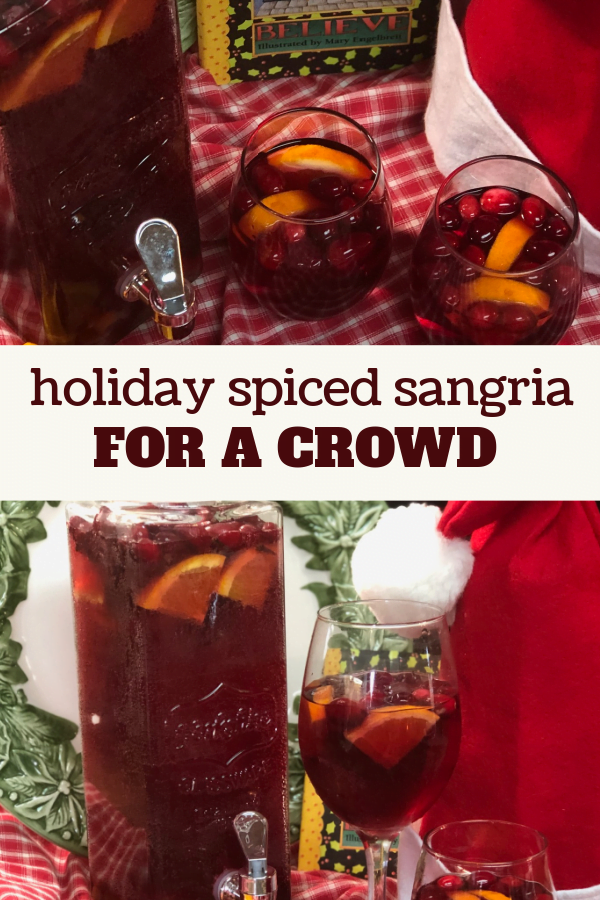 Sangria is perfect for serving a crowd.