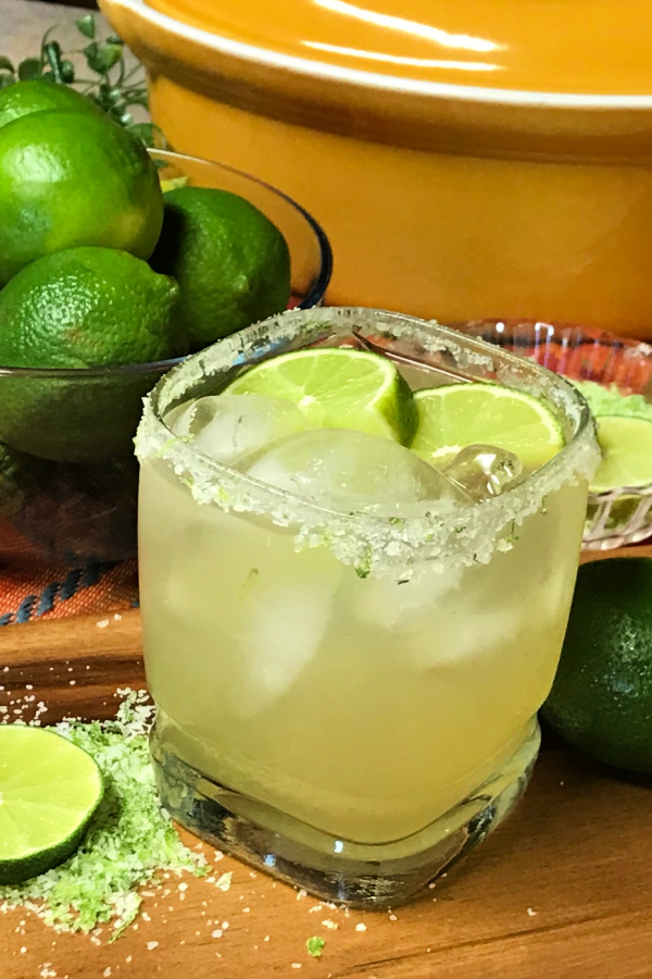 There's nothing more refreshing than an ice cold margarita.