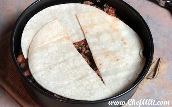 Easy Instant Pot Enchilada Casserole