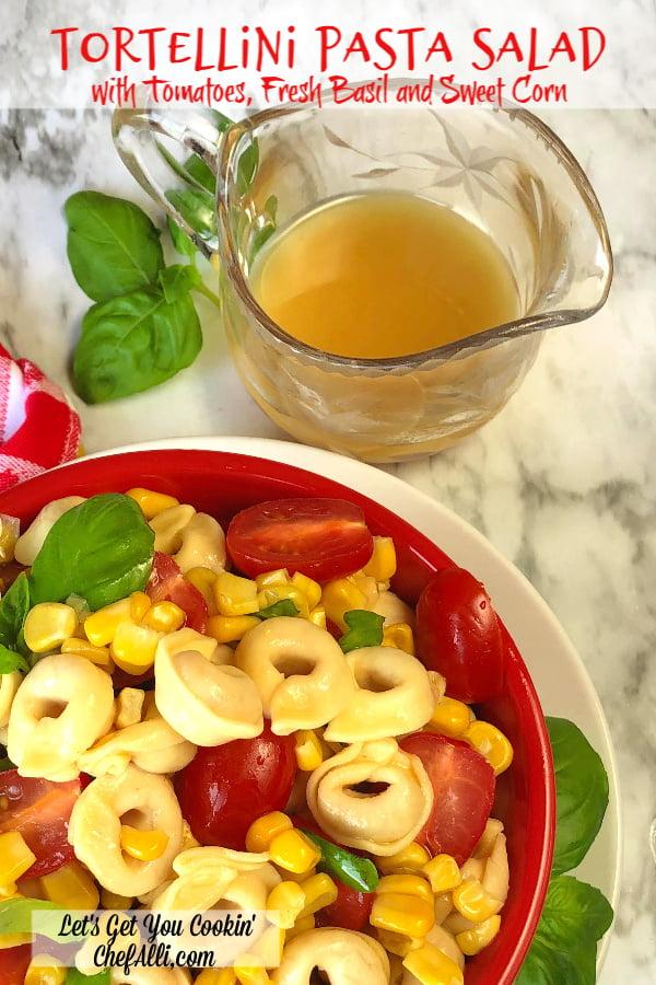 Tortellini Pasta Salad is a great summer tortellini side dish.