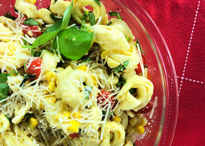 Tortellini Pasta Salad makes a great summer side dish.