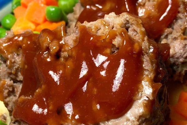 Instant Pot meatloaf is always moist and tender!