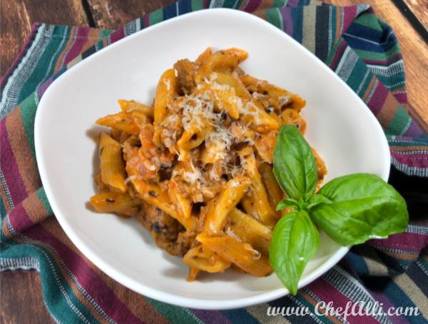 Instant Pot 5-Minute Italian Pasta