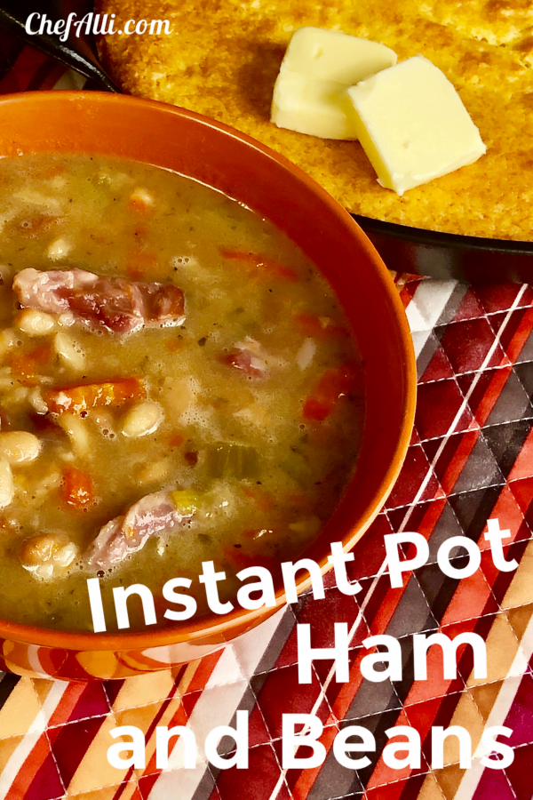 Just wait until you try Ham and Beans made in the Instant Pot! Talk about freakin' delicious, especially when the temperature drops outside and the snow is a blowin'.