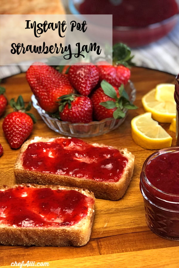 Instant Pot Strawberry Refrigerator Jamis so simple to make, you'll never believe it! And you don't even need any pectin.