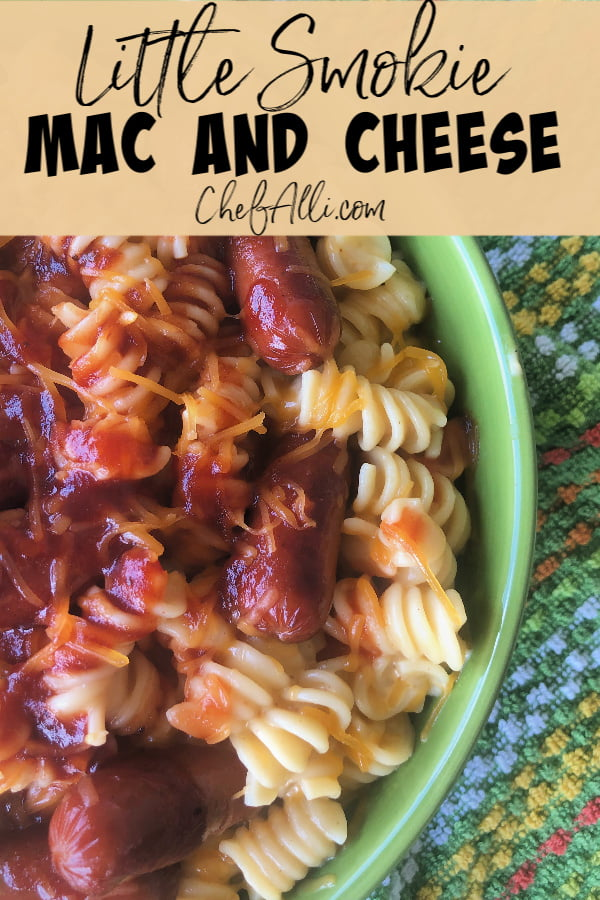 What could make a belly more happy than a big warm serving of cheesy, creamy, mac and cheese?? This Instant Pot Little Smokie Mac and Cheese thrills my family to no end and I'm a happy camper because it only takes 5 minutes to cook in my electric pressure cooker!