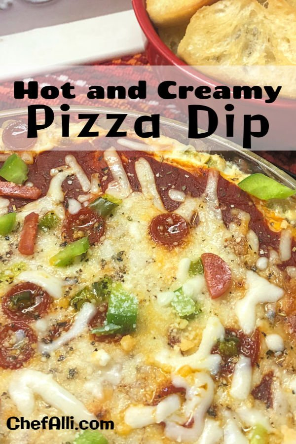 A warm batch of Hot and Creamy Pizza Dip is always a hit.