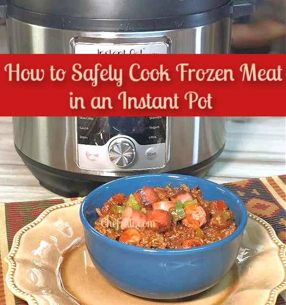 How tosafely cook frozen meat in an Instant Pot,