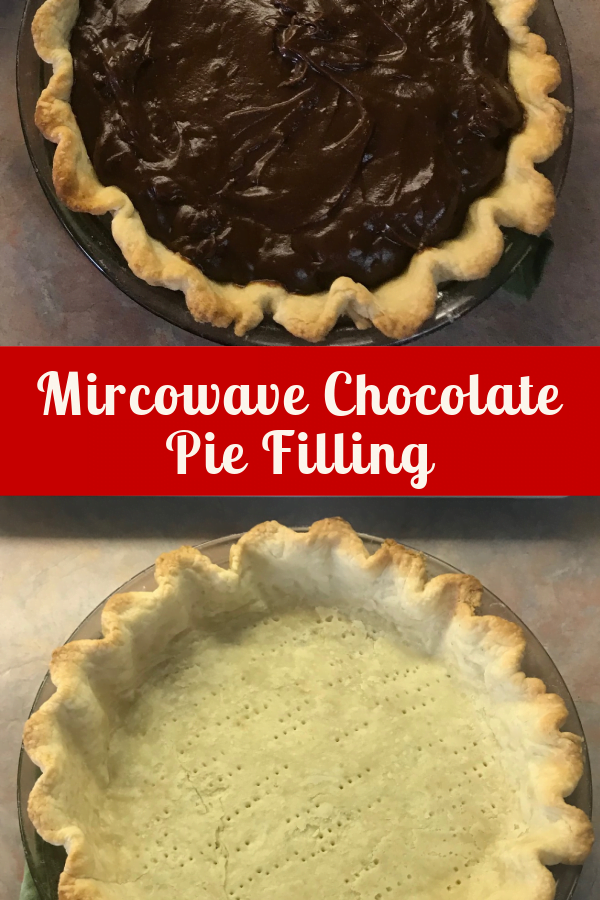 Learn to make chocolate pie filling in the microwave - it's easy.