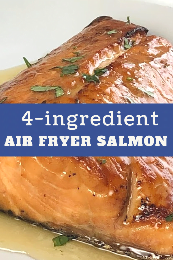 Air Fryer Salmon made in minutes.