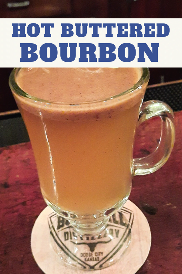 Hot Buttered Bourbon will make you feel toasty warm all over.