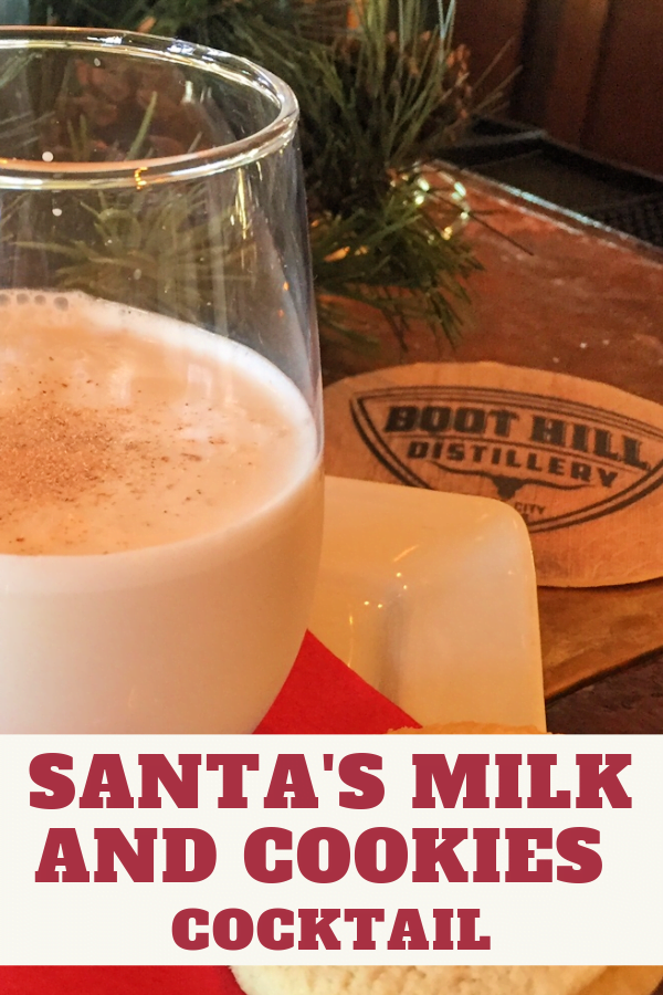Santa's Milk and Cookies is a creamy and luscious holiday treat.