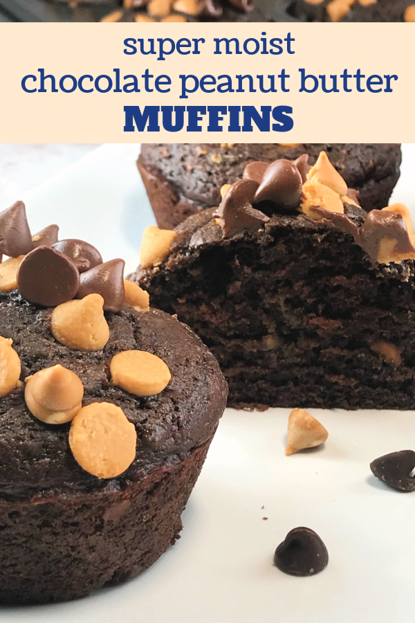 Chocolate Peanut Butter Muffins freeze well.