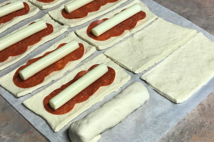Kid-proof and fun - Pizza Breadsticks.