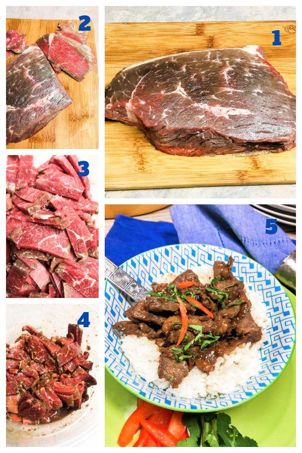 How to make Korean Beef Bulgogi step-by-step.