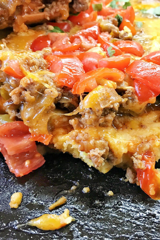 Cheesy and rich - Tex Mexican Cornbread Casserole