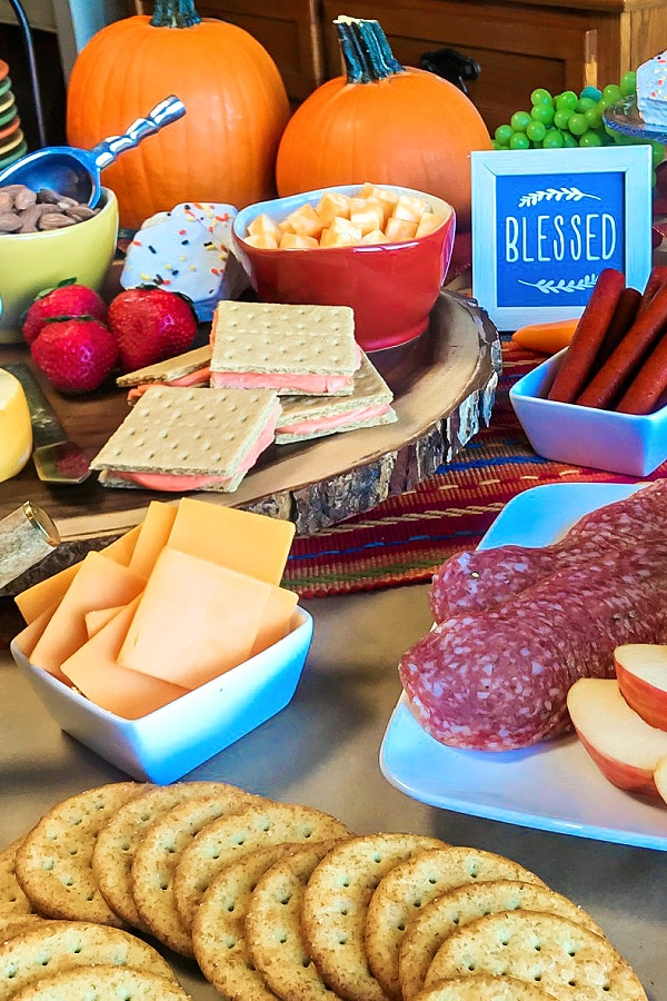 Grocery Store Take-and-Make Charcuterie Board.